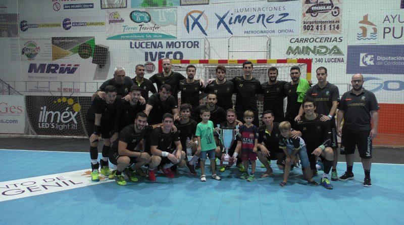 Ángel Ximénez se adjudicó el II Trofeo Villa de Puente Genil con un contundente 36-18 ante el Córdoba Balonmano