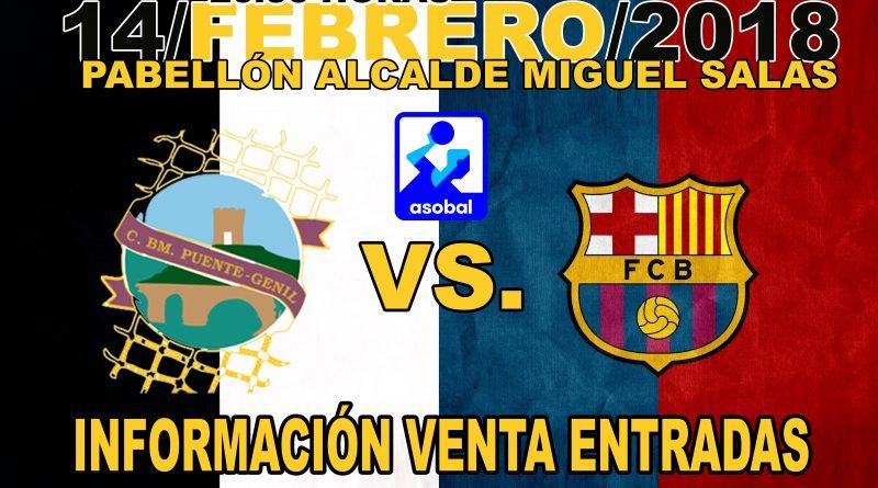 """ENTRADAS """"Mediodía del Club"""" Ángel Ximénez- AVIA vs. FC Barcelona Lassa"""