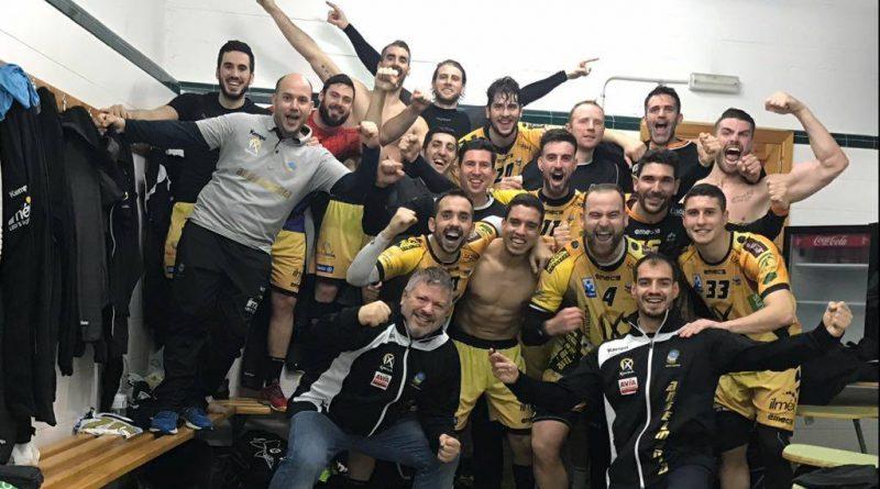 El Ángel Ximénez – AVIA contrarresta a Bada Huesca y se mete en la fase final de Copa del Rey (27-21)