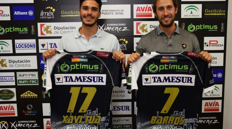 Crónica del acto: Presentación oficial de los jugadores Sergio Barros y Xavi Tuà