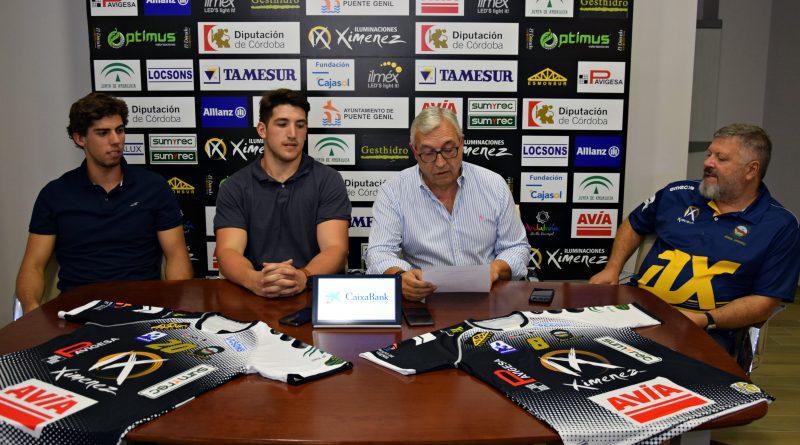 Crónica del acto: Presentación oficial de los jugadores Gaby Chaparro y André Amorim