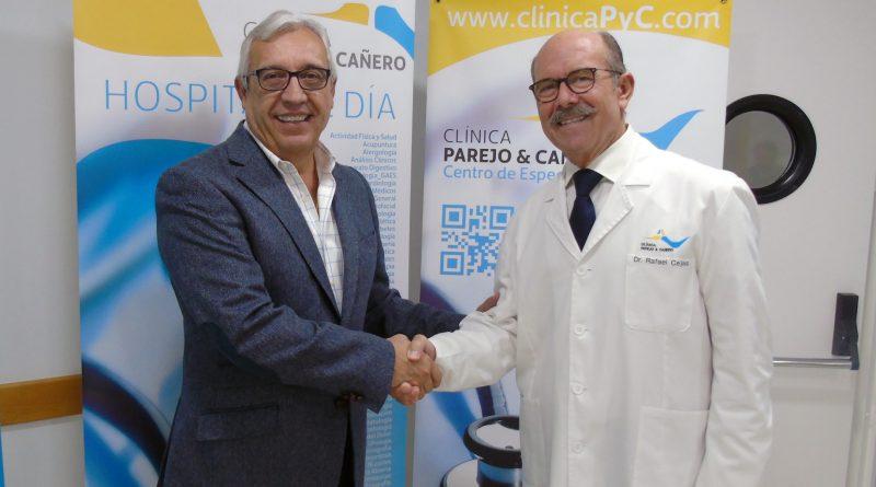 BM Ángel Ximénez – AVIA Puente Genil y Clínica Parejo y Cañero Hospital de Día firman un acuerdo de colaboración para prestar servicios de radiodiagnóstico a sus jugadores.