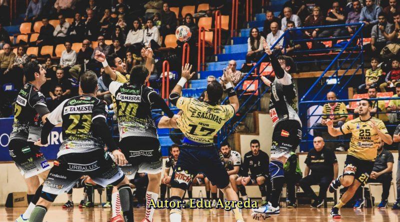 El Ángel Ximénez – AVIA plantó cara a un Bidasoa que acabó haciéndose con la victoria (25-23)