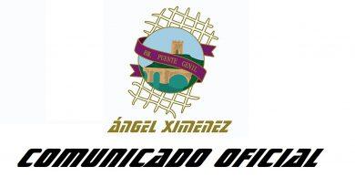 COMUNICADO OFICIAL: El club suspende toda su actividad hasta nuevo aviso