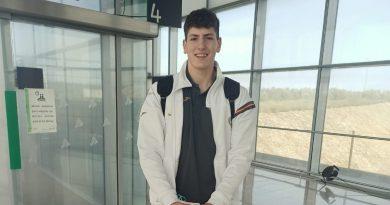 CANTERA: El lateral zurdo Álvaro Muñoz asiste a su tercera convocatoria con los Hispanos Juveniles