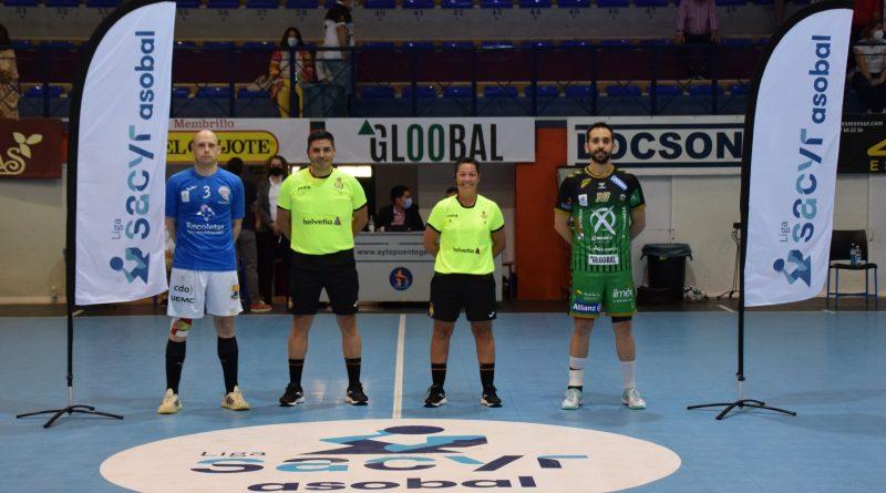 LIGA SACYR ASOBAL: Ángel Ximénez y Recoletas Atlético Valladolid se reparten los puntos en el Miguel Salas (30-30)